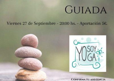 Meditación Guida - 27/9 - 20:00 hs.