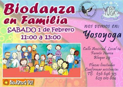 Biodanza en Familia - 02/01 - 11:00 Hs.
